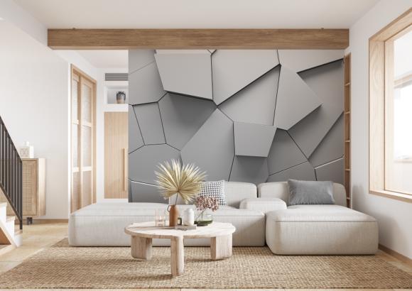 Fototapety we wzory geometryczne – nowy trend